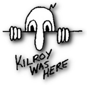 Kilroy Was Here - the Bad Fads Museum