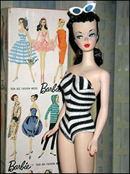 The First Barbie Doll - BadFads.com